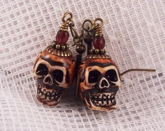 Fabulous Skull Earrings
