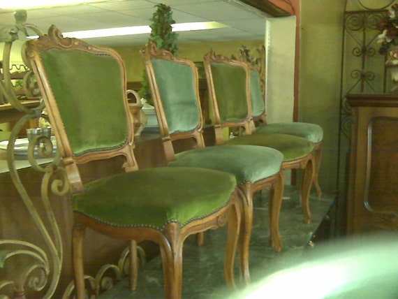 Beautiful Antique French Chairs - Set of 4