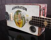 Cigar Box Mandolin / Guitar - Electric - Made in Maine