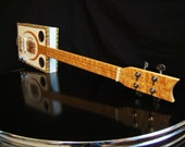 Cigar Box Electric Slide Guitar Made In Maine