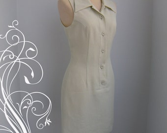 Simply Vintage Honeydew Green Dress bust 36