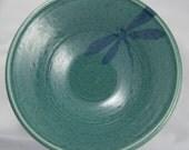 Large Jade raindrop Dragonfly Bowl