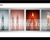 RESERVED - for Jujubie