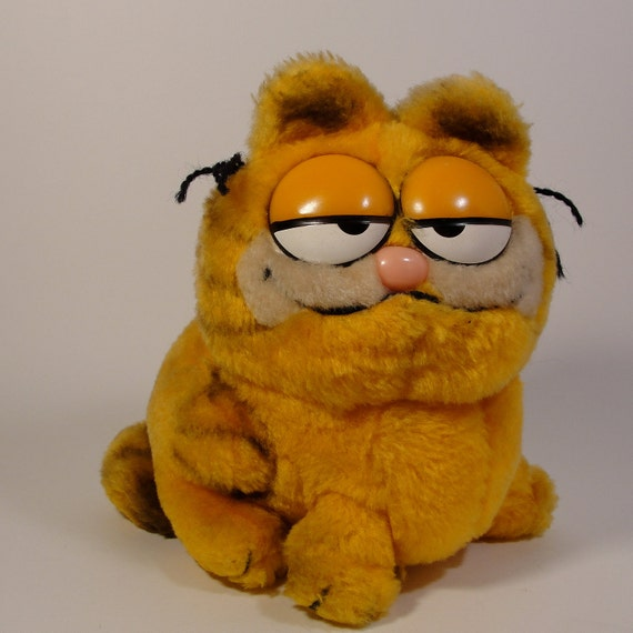 Vintage Garfield Stuffed Animals