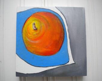 Apple Still Life Orginal Oil Painting