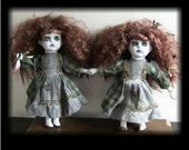 Double Trouble Creepy Scary Twin Horror Dolls