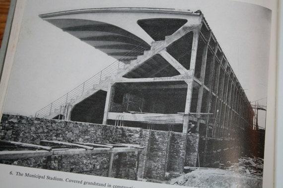1960 pier luigi nervi old architecture book by for Architecture 1960