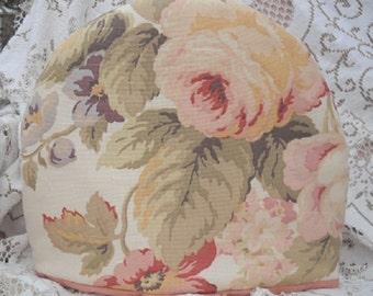 Tea Cozy Romantic Victorian Faded Roses Chocolate Cozy