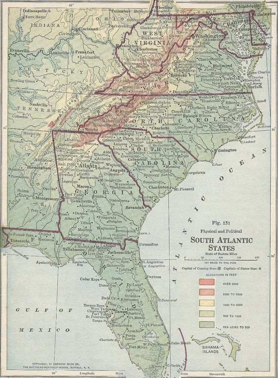 Map Of West Virginia And North Carolina Georgia Map - Road map of north and south carolina
