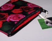 A Rose is a Rose zippered Coin Purse