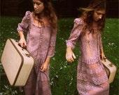 vintage lilac lace Dorothy dress.