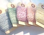 CIJ SALE Bulk Sale 125 Yards Rainbow Assortment Bakers Twine