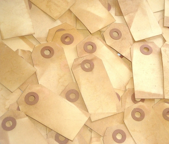 Reserved Listing Tea Stained Shipping (3 1/4 x 1 5/8)Tags 300pcs