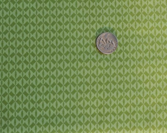 CLEARANCE - Bloom diamonds in green - 1 yard
