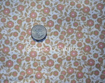 CLEARANCE - Nantucket Summer - summer small floral in brown