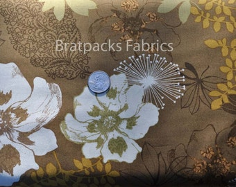 CLEARANCE - Etchings lead floral - 1 yard