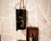 vintage INDUSTRIAL thermos box