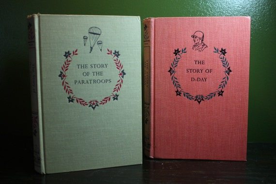 pair of WWII vintage CHILDRENS books