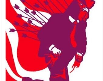Stephen Malkmus poster by Shawn Wolfe