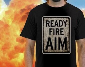 Ready Fire AIM tee by Shawn Wolfe