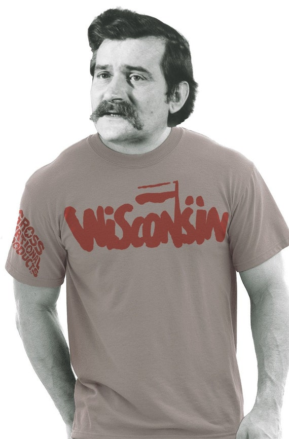 Wisconsin Solidarity tee by Shawn Wolfe