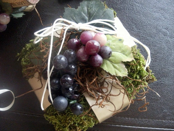 Wine Country Ring Bearer Pillow