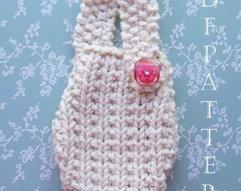 IPhone Pouch Instant Download PDF Knitting Pattern