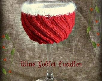 Wine Goblet Instant Download PDF Knitting Pattern