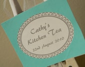 Bridal Shower or Tea Party Favor Tags