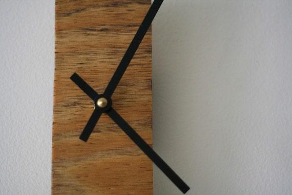 Narrow Wooden Clock
