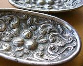 Vintage metal pin dishes