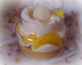 Lemon Sugar Ice, Bakery Sweet Scent, Jar Candle, Food Shaped Candle, Creative Gift, Gifts For Women, Ice Cream Candle, Soy Wax Candle