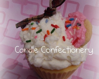 Sugar Cookie Cupcake Candle