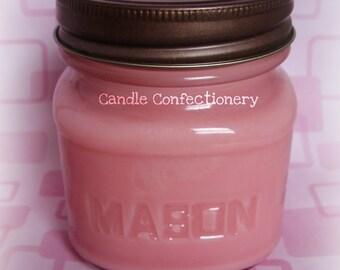8oz soy jar candle