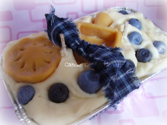 Blueberry Bakery Scoop Candle