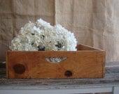 Vintage Rustic Wooden Tray