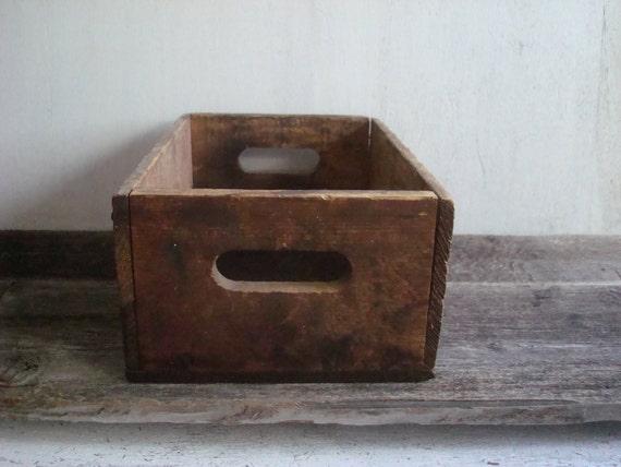 Vintage Wooden Crate, No 3