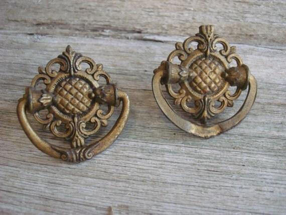 Vintage Ornate Knobs