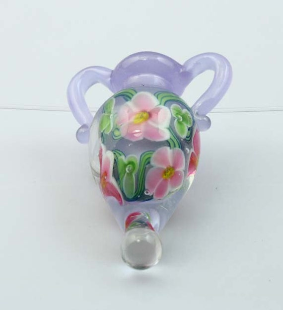 Lampwork vessel Bottle