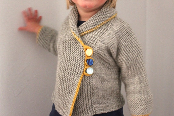 Sunny Day Toddler Sweater  -  Up to 18 Months