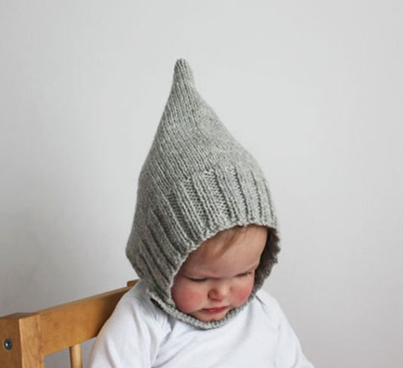 Knitting Needles Case Pattern : Knitting Pattern PDF Infant and Toddler Pixie Bonnet