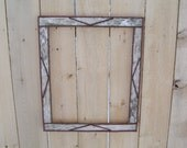 16x20 White Birch Bark Picture Frame Custom orders Welcome
