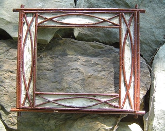 Rustic Birch Bark Picture Frames Handmade for You!