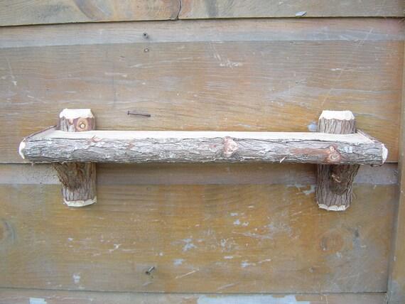 Rustic Maine Cedar Camp Shelf