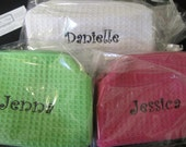 Personalized Small Cosmetic Bag