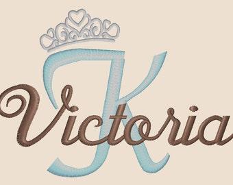 Princess Initial & Name