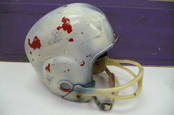 Image result for old fashioned football helmet