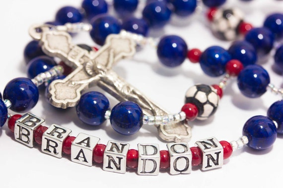 Customized Boy's Rosary