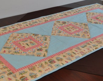 Easter quilted table runner