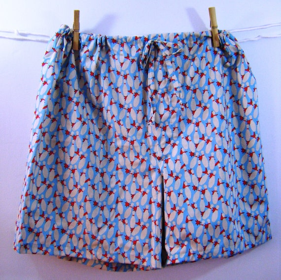 Bowling pin Boxers sleep shorts  XL